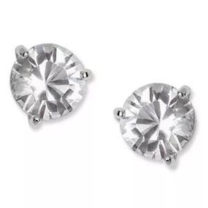 Swarovski Solitarie Crystal Stud Earrings